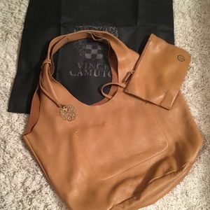 Vince Camuto slouch tote. 100% Leather dust bag
